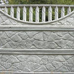 Глянцевые декоративные двух сторонние заборы  из бетона своими руками.Евро заборы технология.